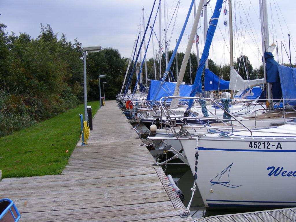 Jachthaven de Brekken stroomzuil Artip